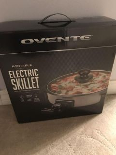 New in box electric skillet