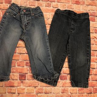 2 Girls 18 Month Jeans