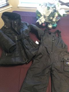 New Beverly Hills polo Snow jacket and pants 4t