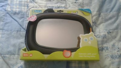 Brica rear-facing baby mirror