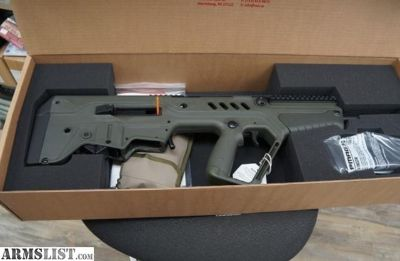 "For Sale: IWI TAVOR 16.5"" BARREL OD GREEN 556"