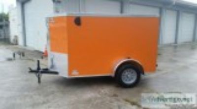 x Orange Enclosed Trailer yr. Warranty