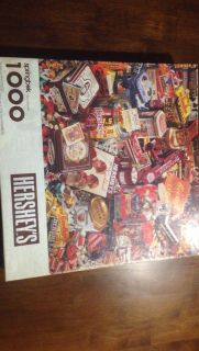 Vintage Hershey's Candy Puzzle