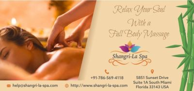 Relax Your Soul With a Full Body Massage