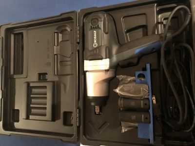 Brand New Kobalt 1/2 inch corded impact wrench from Lowes