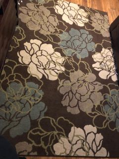 Large area rug great condition.