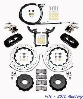 "Find Wilwood AERO4-MC4 Big Brake Rear Parking Brake Kit Fits 2015 Mustang,14"" Rotors motorcycle in Camarillo, California, United States, for US $1,969.00"