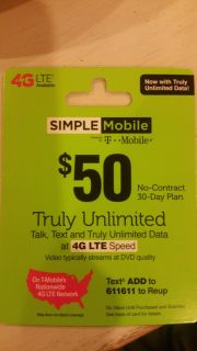 T Mobile Phone Card