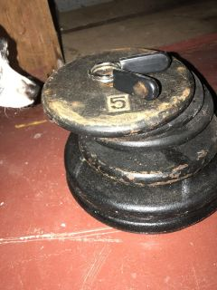 Misc free weights and bars