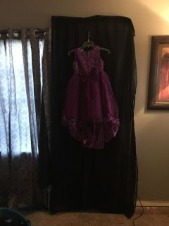 flower girl dress sz 14 actual size 10 I have 2 of them are the exact same other is 16 actual size 14. 75$ each