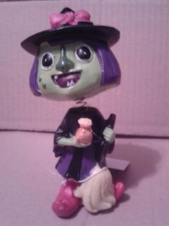 Witch Bobblehead nwt