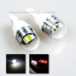 Sell NEW DESIGN!! 4X 6000K LED SMD MOISUTRE-FREE T10 194 168 W5W PROJECTOR LENS BULBS motorcycle in Pomona, California, United States, for US $5.99
