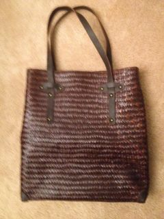 Chico's leather purse