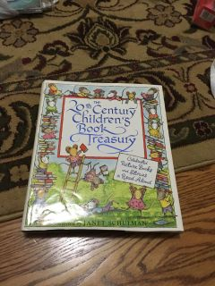 The 20th Century Book Treasury selected by Janet Schulman. Excellent condition. See contents in comment. Gallatin unless going to H ville.