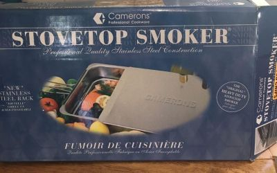 Cameron s stovetop smoker only used 1 time