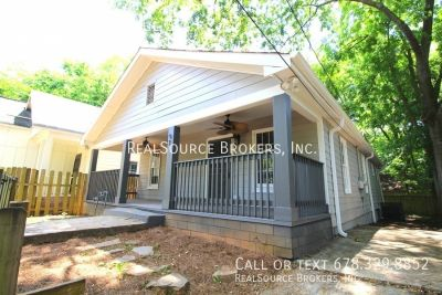 3 bdrm, 2 bath updated home in Peoplestown