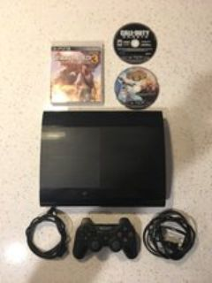 PlayStation 3 w/ games