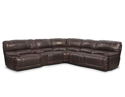 Power Leather Sectional