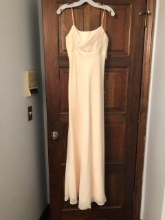 Gorgeous pale yellow gown