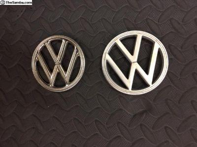 Two Volkwagon Emblums