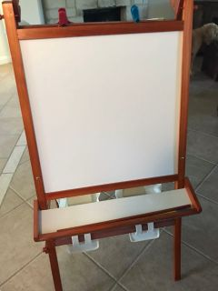 Easel white and chalk board