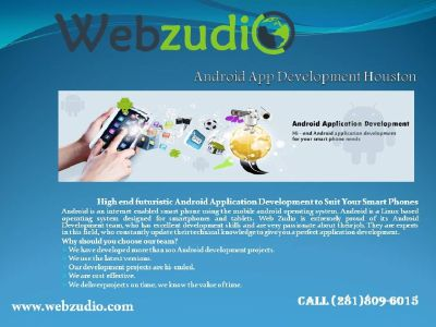 Android Application Development Houston