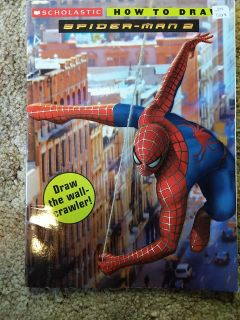 How to draw spiderman book