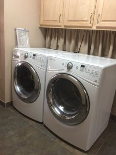 Whirlpool Duet washer and dryer front loaders