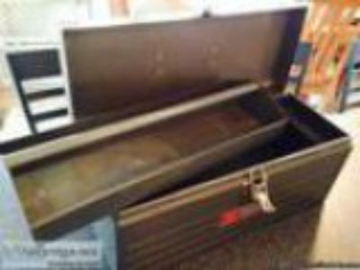 Craftsman Steel Tool Box with tool the quotHandyman Special quo