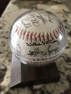 San Francisco Giants Team Autographs 1979 /80