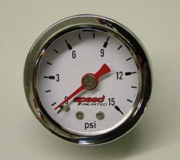 "Purchase Speed 100 1-1/2"" 0-15 PSI Fuel Pressure Gauge motorcycle in Suitland, Maryland, US, for US $24.94"