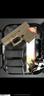 For Sale: Glock 26 gen 4 full flat dark earth