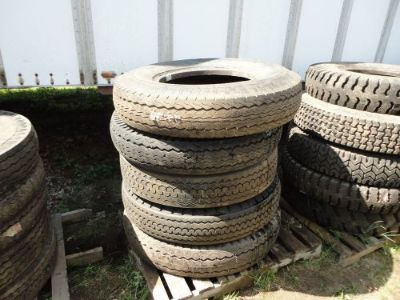 Sell ASSORTED TRUCK TIRES - FIRESTONE, DUNLOP,GOODYEAR, KELLY, DAYTON, GENERAL motorcycle in East Longmeadow, Massachusetts, United States, for US $75.00