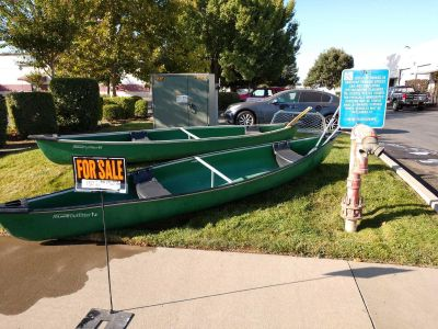 Coleman Outfitter 15 foot canoes
