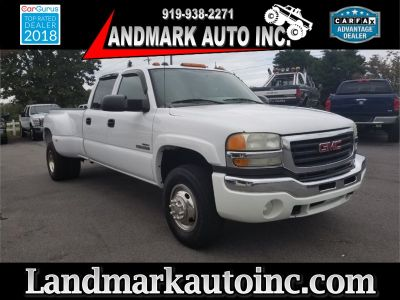 2005 GMC Sierra 3500 Work Truck (WHITE)