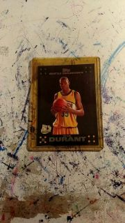 Kevin Durant rookie card worth $20 selling for$ 10