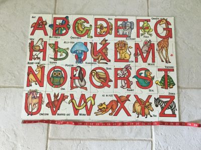 BIG *ABC* Floor Puzzle ~ Over 2 Ft Long