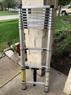 Collapsible ladder - sturdy and heavy