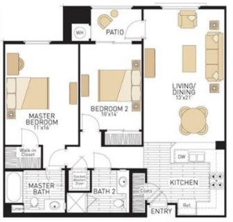 $7380 2 apartment in Irvine