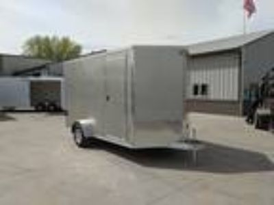 2019 EZ-Hauler 7'x12' Aluminum Enclosed Trailer