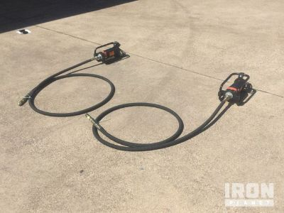 Lot of (2) GWalker CNGV-2HD Concrete Vibrator - Unused