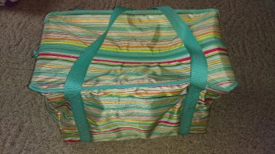 Thirty-One brand Fresh Market Thermal in Sunny Stripe