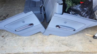 BMW e46 REAR driver and passenger side interior door panels
