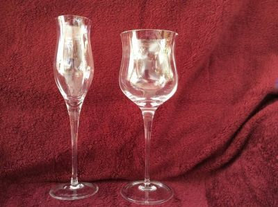 Rosenthal crystal - champagne & water glasses