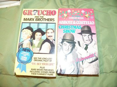 2 Comedy VHS Tapes