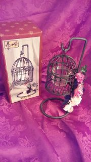 Birdcage votive holder
