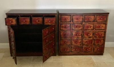 Pottery Barn Cabinets