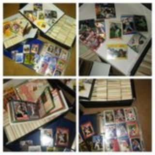 baseball cards and memorabilia