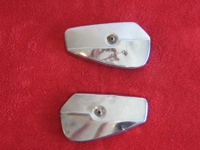 Purchase 1963 HONDA CA72 DREAM TOURING 250 (EARLY STYLE) RIGHT AND LEFT LOWER FORK COVER motorcycle in Jackson, Wyoming, US, for US $15.00