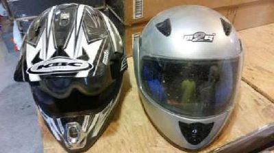 Two Helmets- Dirt bike, 4 wheeler or motorcycle helmet